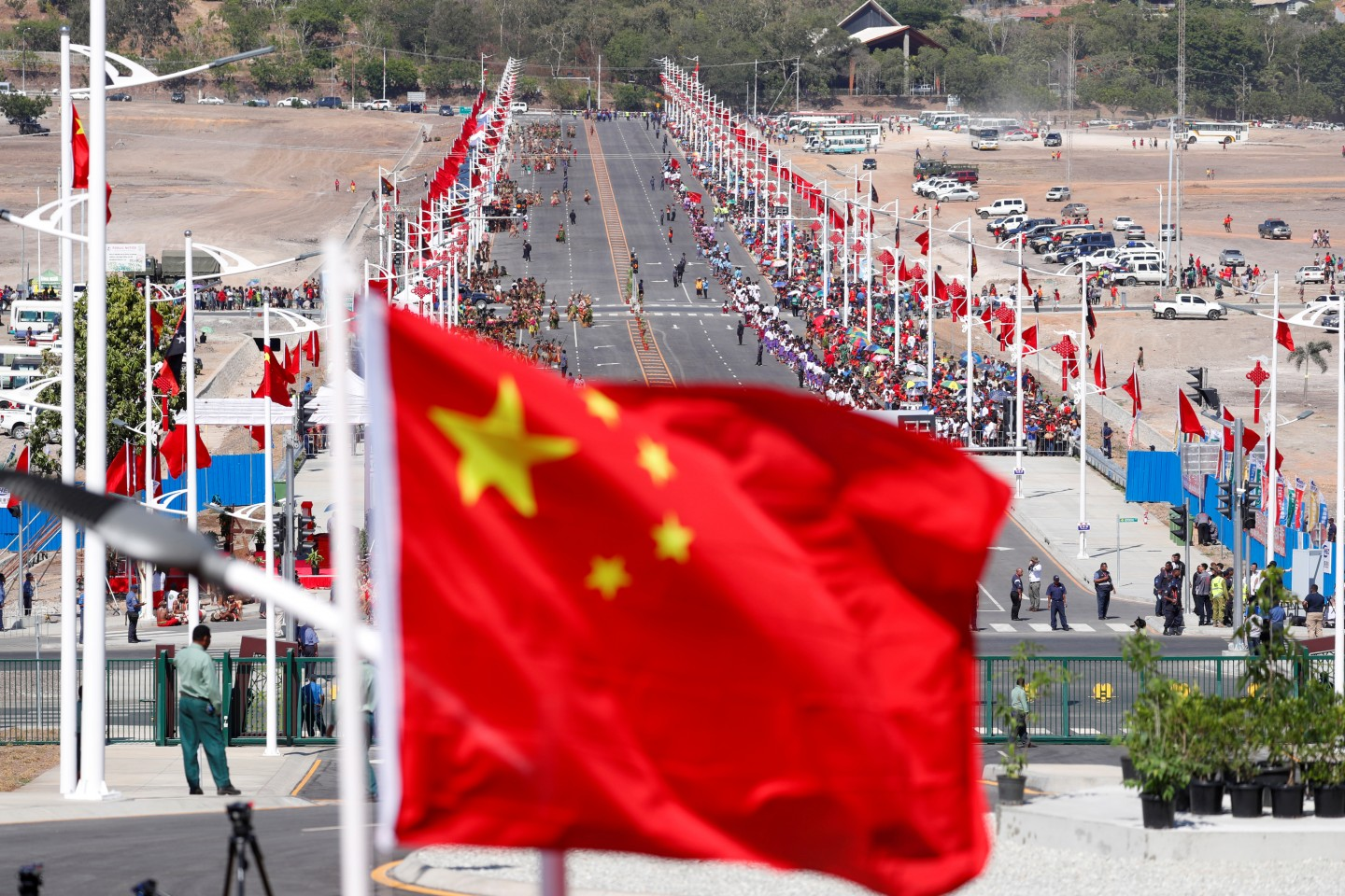 China is having difficulties in translating its growing hard power into soft power. (David Gray/Reuters)