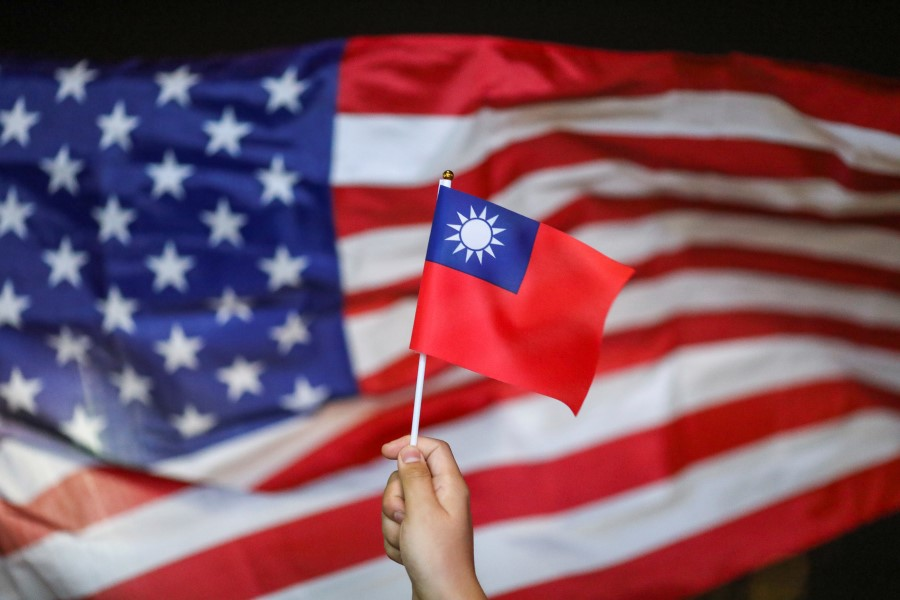 Taiwan is benefiting from the China-US trade war, and the US is supportive of Taiwan. (Athit Perawongmetha/REUTERS)