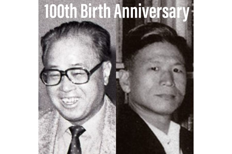 Zhao Ziyang (left) and Yin Haiguang were visionaries ahead of their time.