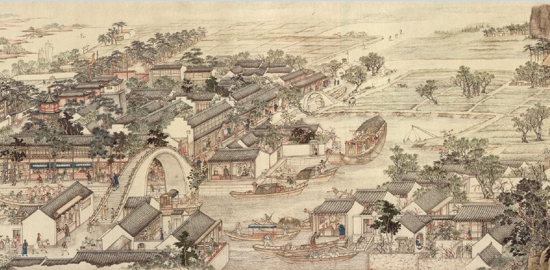Xu Yang, 《姑苏繁华图》