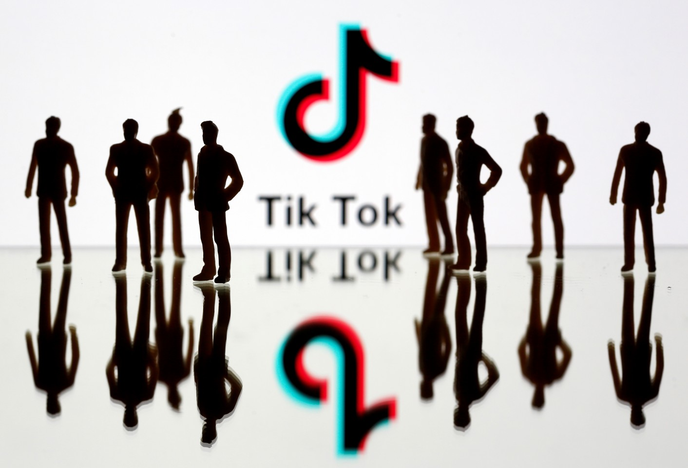 The rise in popularity of TikTok was also the start of a series of unfortunate political troubles. (REUTERS/Dado Ruvic/Illustration)