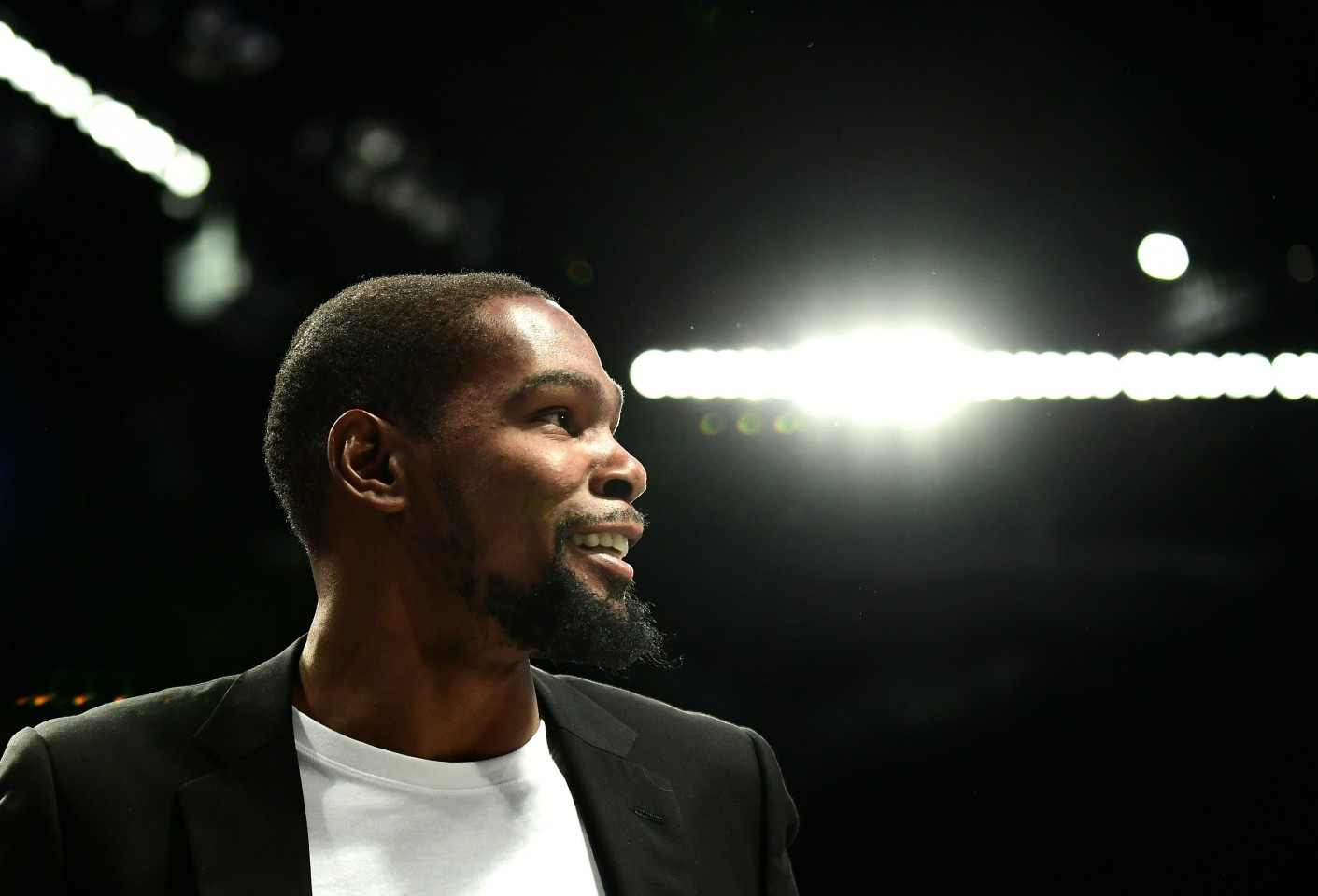 Kevin Durant, two-time Finals MVP winner. (Emilee Chinn/Getty Images/AFP)