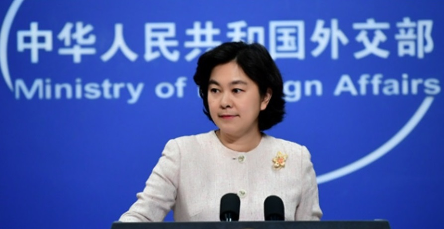 Ministry of Foreign Affairs spokesperson Hua Chunying berated the reporter who asked asked such a provocative question, and questioned the motives behind such provocation. (Internet)