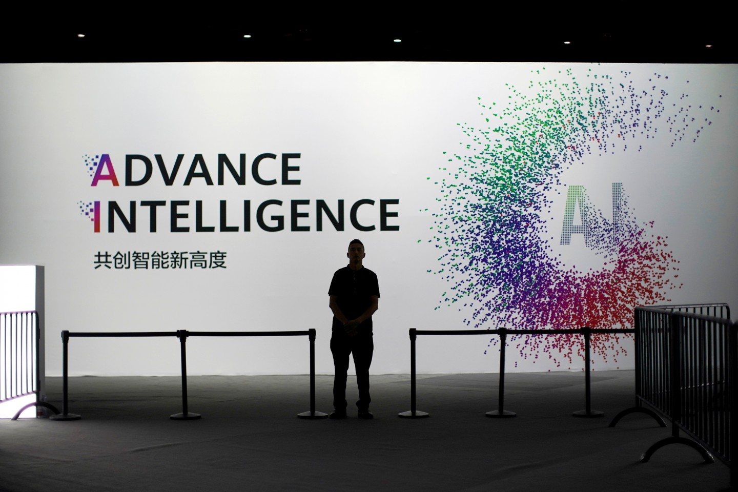 Beijing has made funding commitments of US$300 billion over ten years, earmarked for semiconductors, AI, robotics and other key industries of the future. This file photo was taken at the annual Huawei Connect event in Shanghai, China September 18, 2019. (Aly Song/File Photo/Reuters)