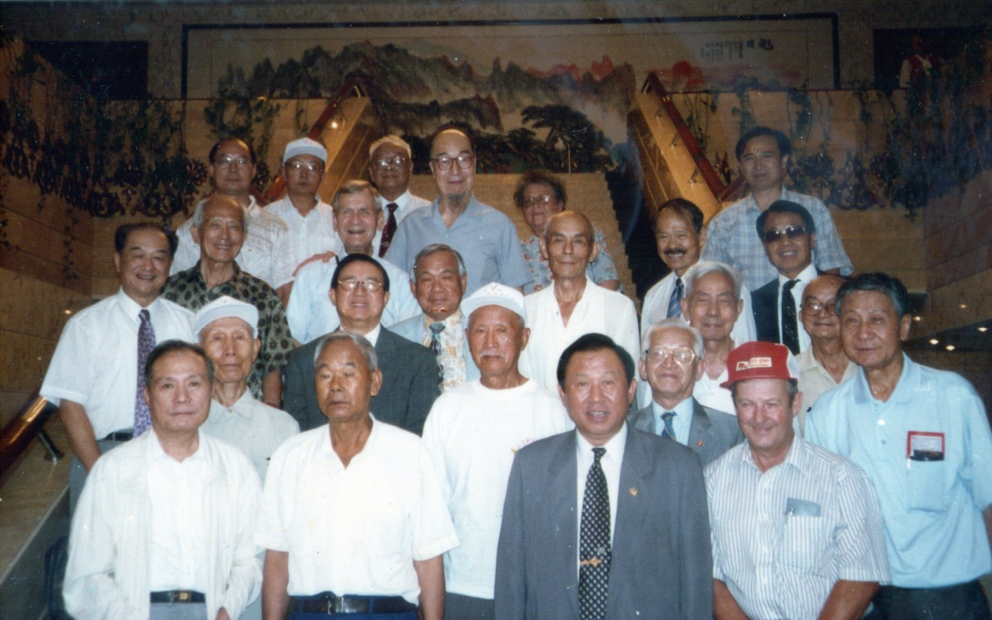 "Flying Tigers ""Return to China"" tour, Kunming, 1985."