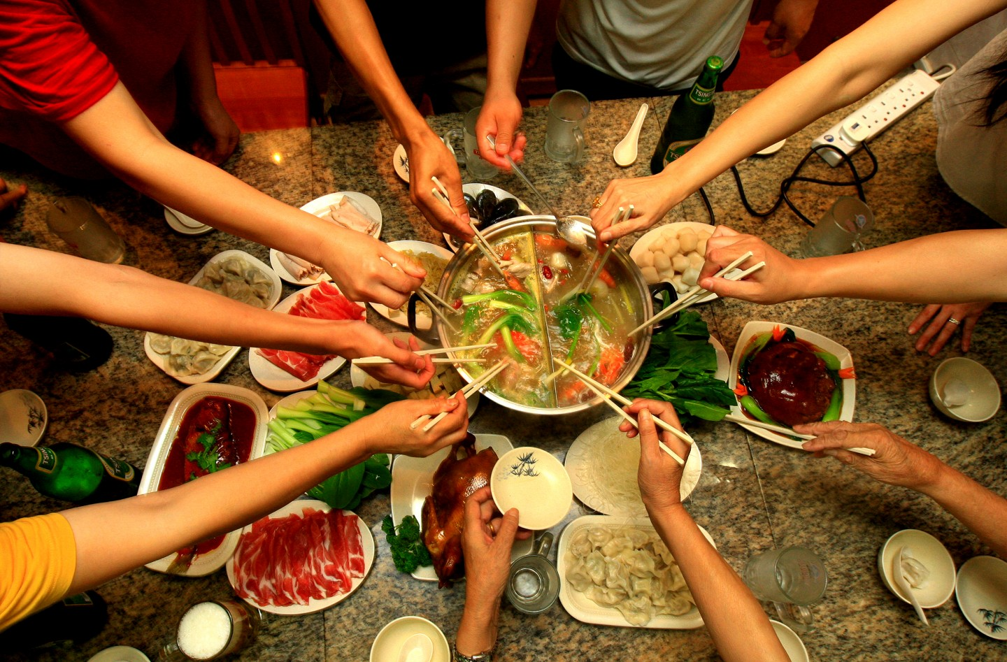 The steamboat is a heartwarming affair at family gatherings. (SPH)