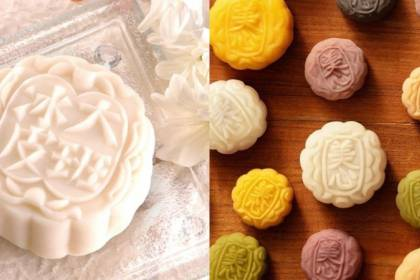 While Taipan mooncakes (left) have been removed from e-commerce sites and physical stores in mainland China, Maxim's mooncakes (right) have become especially popular following comments by group chief Annie Wu against the actions of Hong Kong protesters. (Facebook)